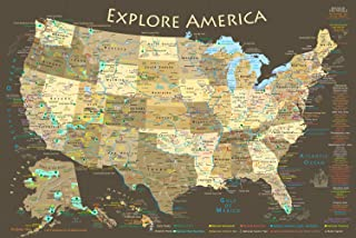 National Parks Explorer Map