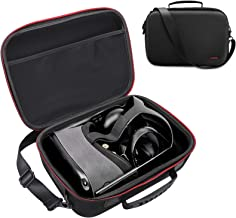 Hard Travel Case Carrying Case for Oculus Quest VR Gaming Headset and Controllers Accessories, LINKSTYLE Portable Protective Storage Bag with Shoulder Strap and Shockproof Cover