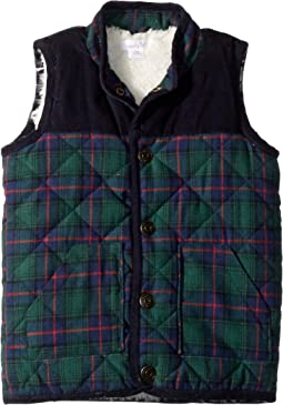 Tartan Sherpa Vest (Infant/Toddler)