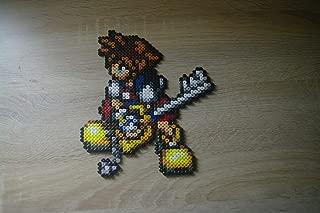 Sprite Sora - Kingdom hearts - Hama Beads • Pixel Art • Perler bead