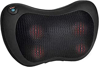 Shiatsu Back Neck Massager - Kneading Massage Pillow with Heat for Shoulders, Lower Back, Calf, Legs, Foot - Use at Home, Office, and Car. Best Back Massagers Great Gift, Gifts Dad/Mom, Fathers Day