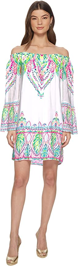 Lilly Pulitzer - Nevie Off-The-Shoulder Dress