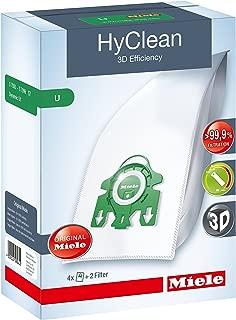 Miele Hyclean 3D U Series SMS Bags Filter Set Pack Of 4 Plus 2