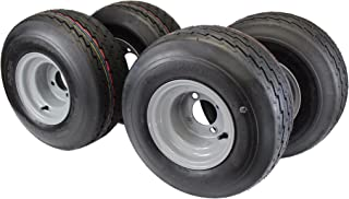 18x8.50-8 with 8x7 Gray Assembly for Golf Cart and Lawn Mower (Set of 4)
