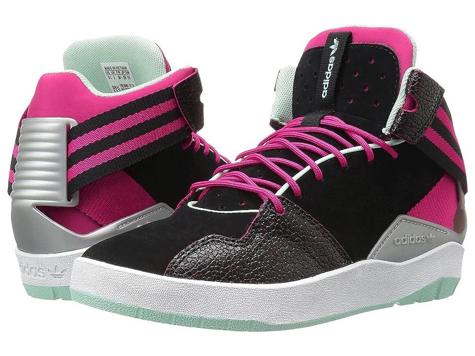 newest da27e 83a6e adidas Originals Kids Crestwood Mid (Big Kid) (BlackBold PinkIce Green)  Girls Shoes - 36894986BigKidM by adidas Originals Kids