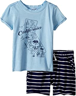 Splendid Littles California Map Tee Set (Infant)