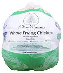 Pine Manor, Chicken Whole Fryer Wog Air Chilled Non-Gmo Pre Packed Step 2