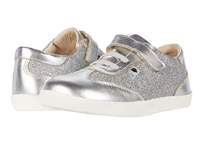 Old Soles Glam Sneaker (Toddler/Little Kid) (Glam Argent/Silver) Girl