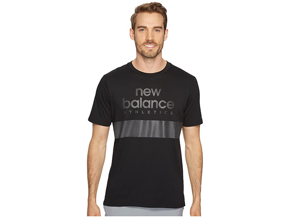 New Balance NB Athletics Reflective Tee (Black) Men