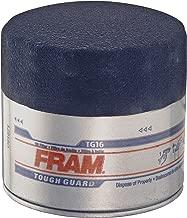 Fram TG16 Tough Guard Passenger Car Spin-On Oil Filter (Pack of 2)