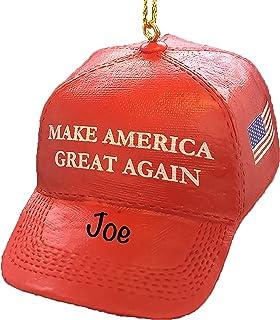 Trump 2021 Ornament - Make America Great Again Ornament - MAGA Hat Trump Christmas Ornaments - Funny Christmas Tree Orname...