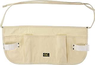 CLC Custom Leathercraft C12 Canvas Waist Apron Toolbelt, 5 Pocket