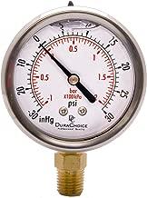 Best compound pressure vacuum gauge Reviews