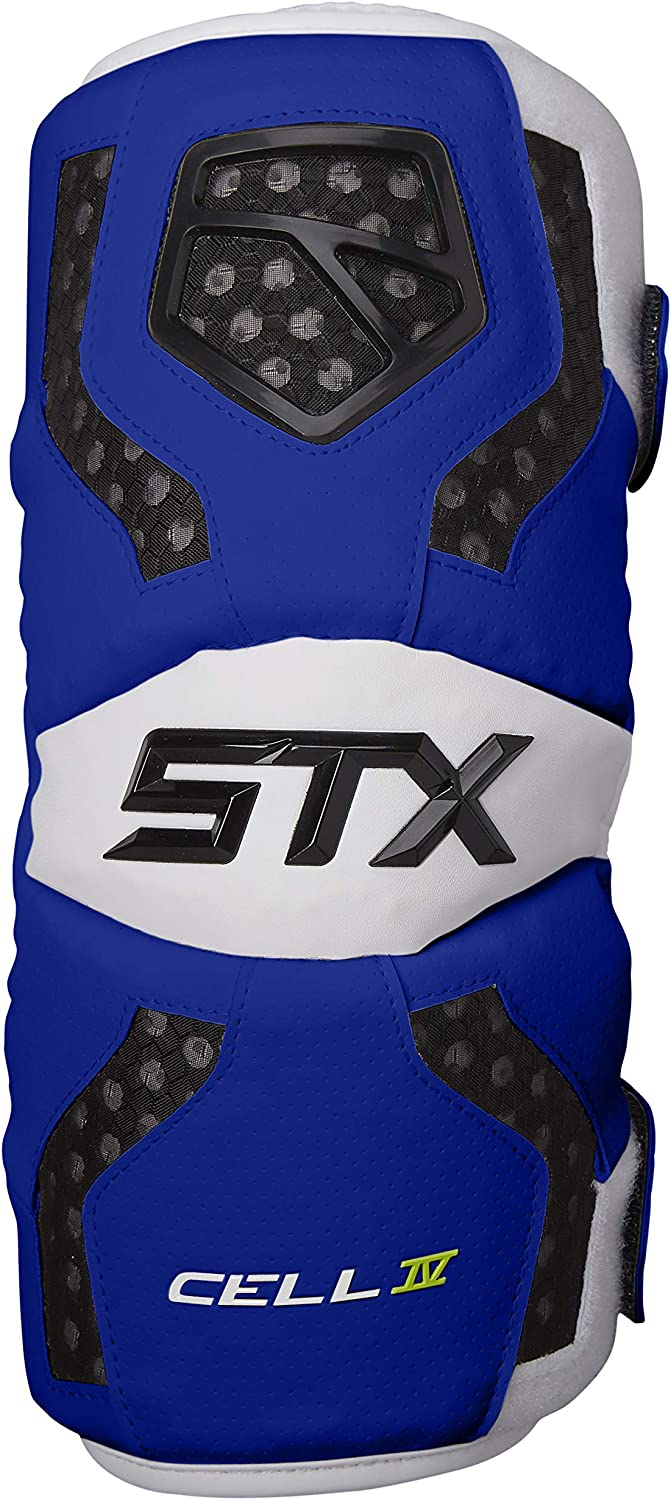 STX Lacrosse Cell 4 Mens Lacrosse Arm Pads : Sports & Outdoors