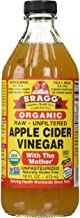 Bragg USDA Gluten Free Organic Raw Apple Cider Vinegar, with The Mother