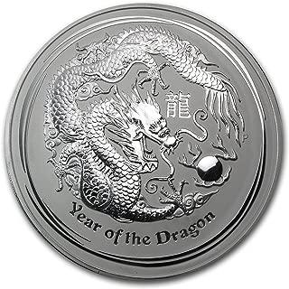 2012 AU Australia 1 kilo Silver Year of the Dragon BU Silver Brilliant Uncirculated