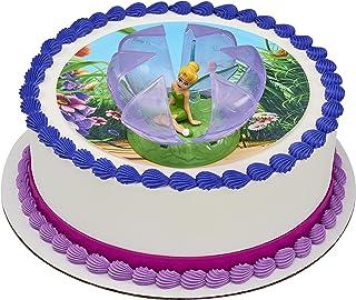 DecoPac Disney Fairies Tinker Bell in Flower Decoset