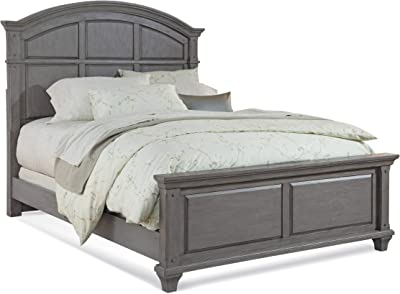 Greyson Living Harbor Point Vintage Panel Bed by Queen Grey