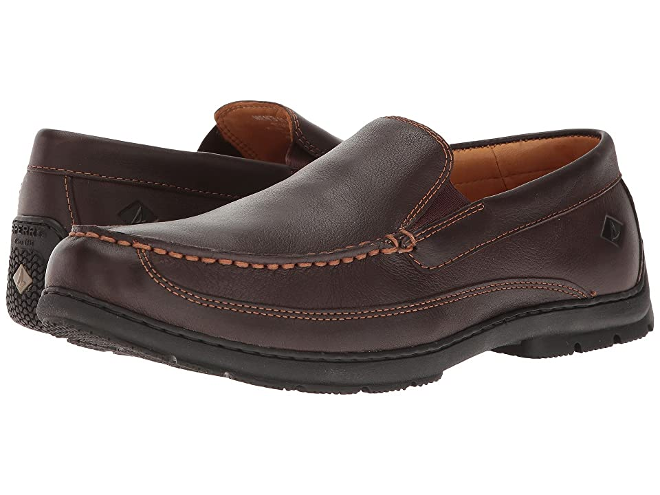 Sperry Gold Loafer Twin Gore (Brown) Men