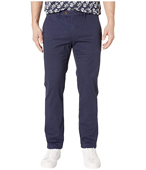 219050a29 Ted Baker Sladrid Slim Fit Printed Chino at Zappos.com