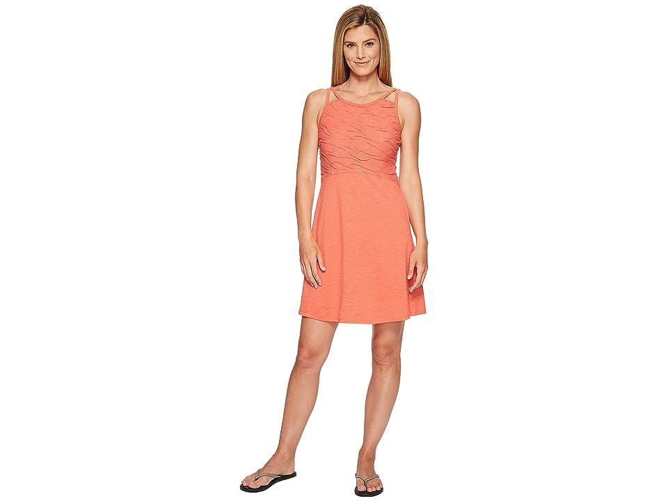 Toad&Co Sambasol Dress (Spiced Coral) Women