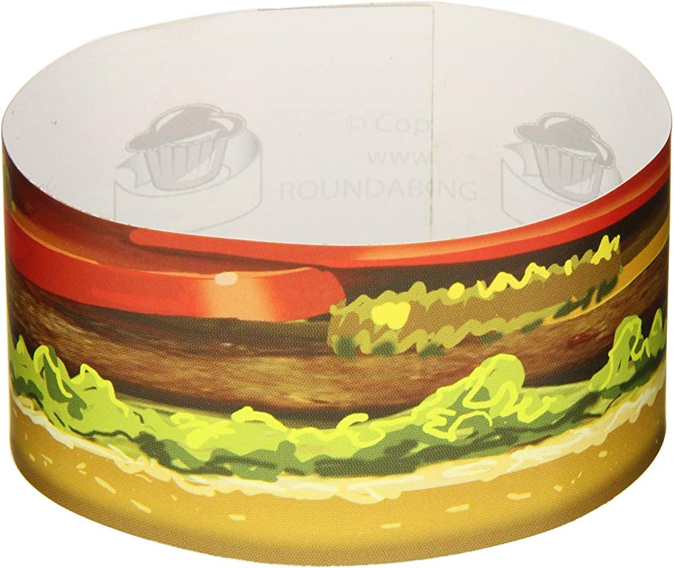 Roundabouts Cupcake Sleeves Lil Burger Cupcake Sleeve Pack Of 24