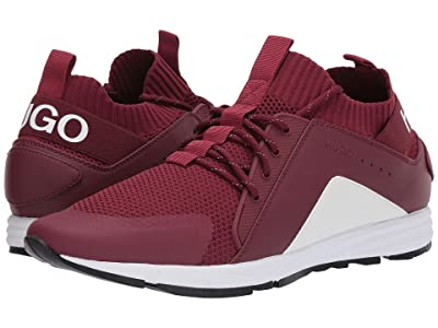 BOSS Hugo Boss Hybrid Mesh Sneaker by HUGO (Dark Red) Men