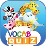 キッズボキャブラリーゲーム:あなたの子供のための動物と実生活の英語ボキャブクイズゲームアプリ無料!