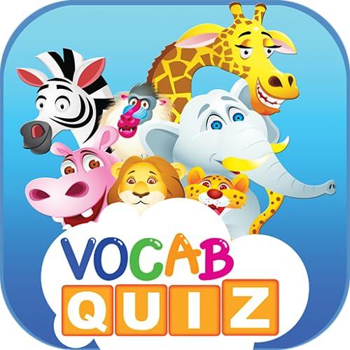 Kids Vocabulary Games: Tiere und Früchte Englisch Vokabeln Quiz-Spiel-App für Ihre Kinder pädagogisches Lernen kostenlos!