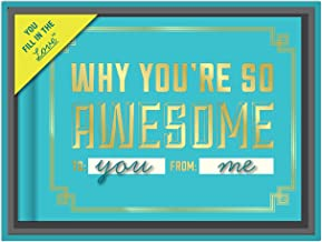 Knock Knock Why You're So Awesome Fill in the Love Journal with Gift Box