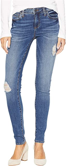 Mia Toothpick Skinny Jeans in Massive