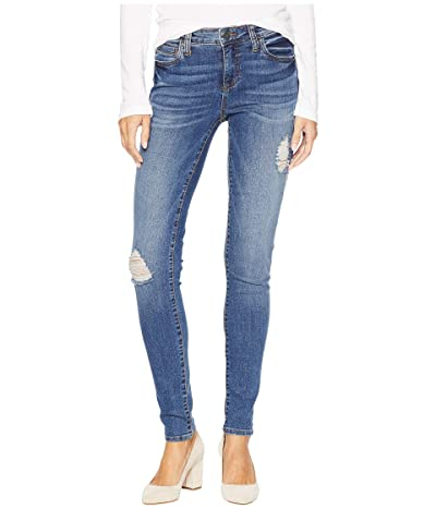 KUT from the Kloth Mia Toothpick Skinny Jeans in Massive (Massive/Medium Base Wash) Women