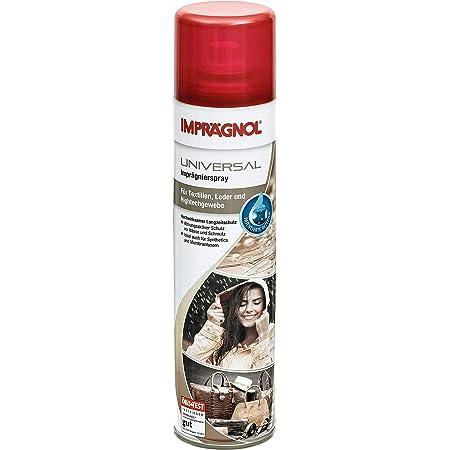 IMPRÄGNOL Spray universel imperméabilisant: Protection idéale pour sacs, chaussures et les vêtements, 400 ml