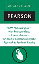 NEW MyReadingLab™  with Pearson eText -- Instant Access -- for Read to Succeed: A Thematic Approach to Academic Reading (Myreadinglab (Access Codes))