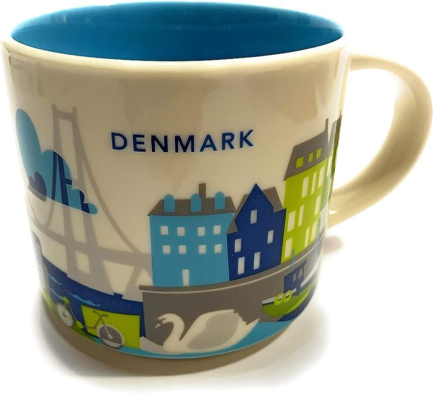 Starbucks Denmark You Are Here YAH Collection Coffee Mug