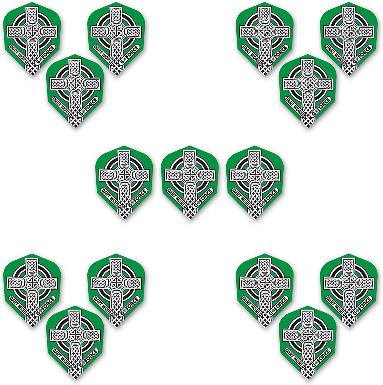 Dart World Gforce Low price 51275 Standard Celtic of Flights Cross 5 free shipping Sets