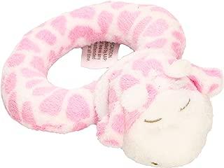Angel Dear Ring Rattle, Pink Giraffe