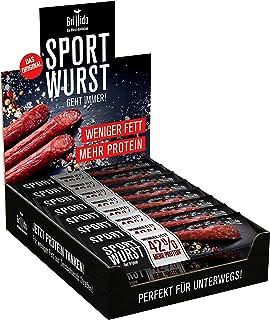 Grillido Sportwurst Original 25er Pack | Die Power Salami mi