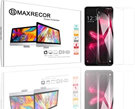 Maxrecor - Compatible with Rim BlackBerry Curve 8300 Nano Matrix Crystal Clear PDA Screen Protector (Dual Pack Bundle)