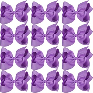 026bc0507d8078 Large Boutique Hair Bows 6 Inch Cheerleading Cheerleader Cheer Bow  Alligator Clips For Girl Teens Women