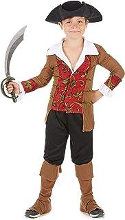 Pirata Ragazzo JIM Caraibi CABINA bambino Halloween Fancy Dress