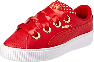 PUMA Women's Platform Kiss Ath Lux WN's, Ribbon Red