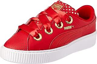 PUMA Women's Platform Kiss Ath Lux WN's, Ribbon Red