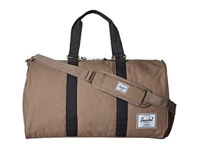 Herschel Supply Co. Novel (Pine Bark/Black) Duffel Bags