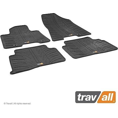 Travall Mats Gummifußmatten Kompatibel Mit Hyundai Tucson 2015 2020 Trm1285 Allwettermatten Nach Maß Fussmatten Set Auto