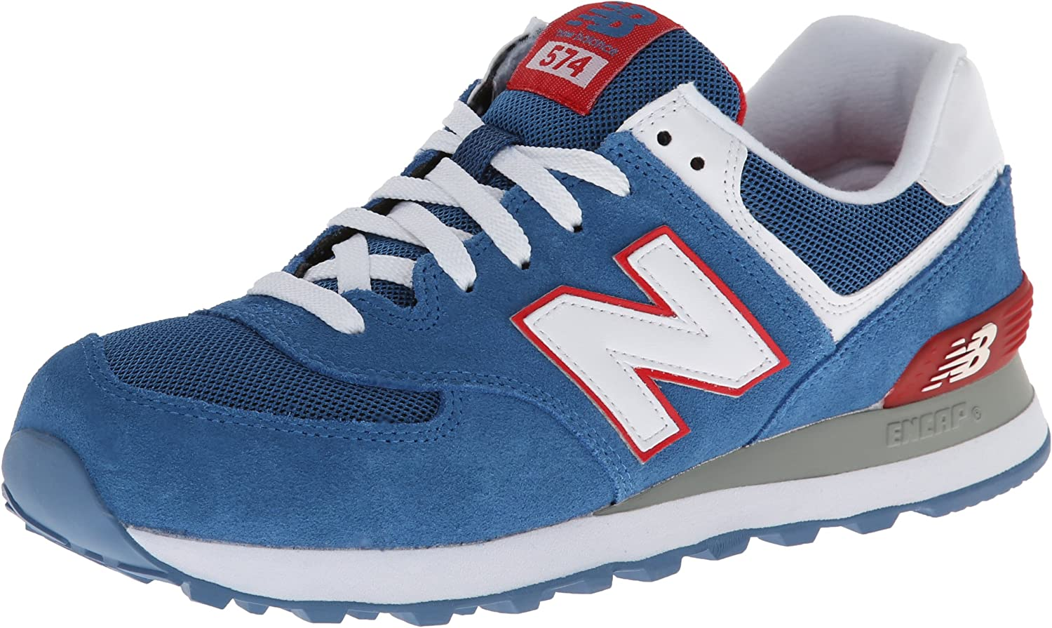 New Balance ML 574 CBR Blue Red 42.5: Amazon.co.uk: Shoes & Bags