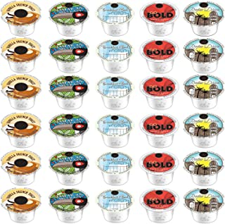 30-Count Wolfgang Puck Variety K-Cups For Keurig 2.0 Vanilla French Toast, Jamaican Me Crazy, Hawaiian Hazelnut, Rodeo Drive and Go Bold (5 FLAVORS)