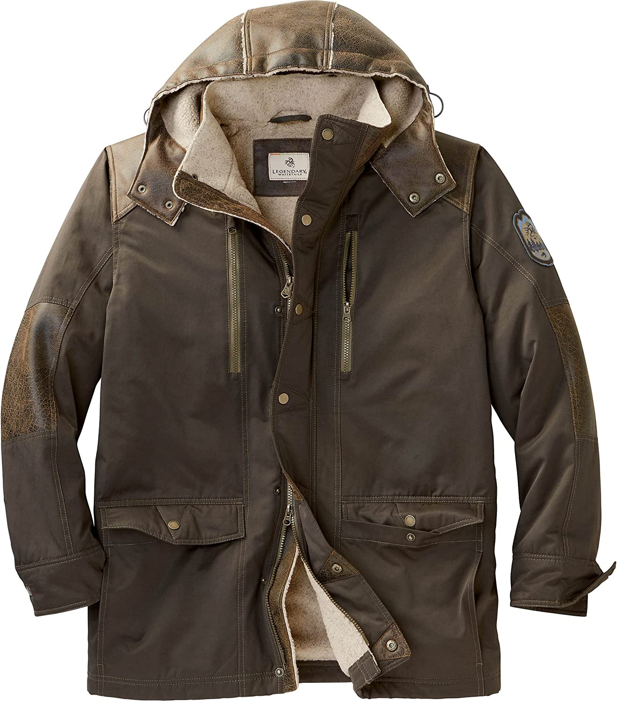 Legendary Whitetails Men's Lodge Berber Lined Jacket