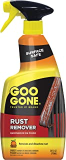 Goo Gone Rust Remover - Outdoor and Indoor Metal Rusting Remover- 24 fl oz