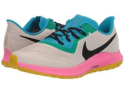 Nike Air Zoom Pegasus 36 Trail (Light Orewood Brown/Black/Pink Blast) Men